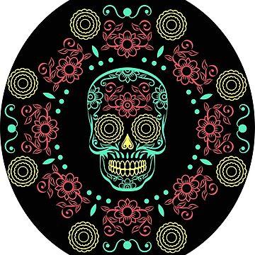 Skull Halloween  by silemhaf