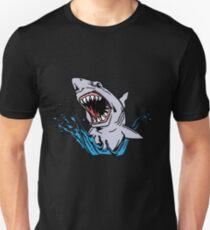 Weißer Hai - Wasser Unisex T-Shirt