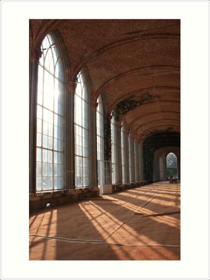 The Royal Greenhouses by annalisa bianchetti