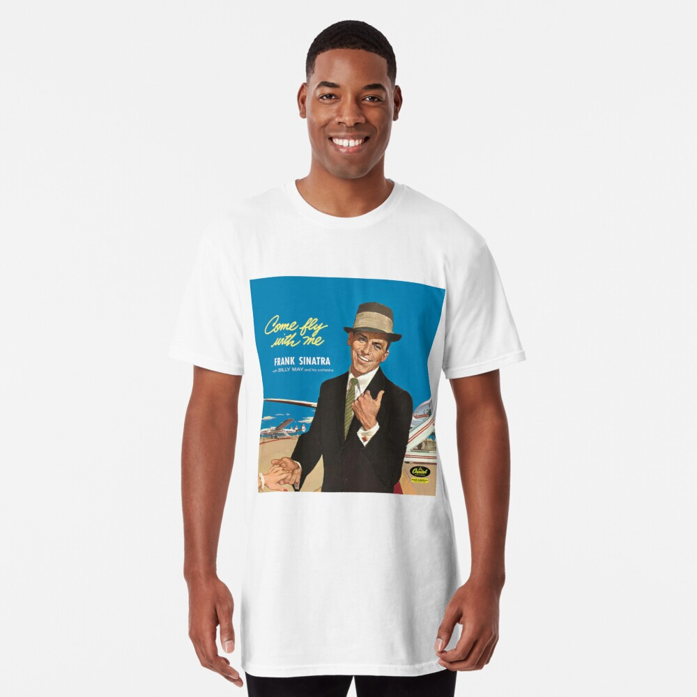 """Frank Sinatra """"Komm flieg mit mir"""" Print Longshirt"""