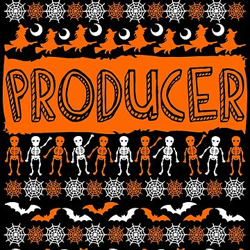 Cool Producer Ugly Halloween Gift t-shirt by BBPDesigns