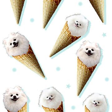 ice cream pomeranian by FandomizedRose