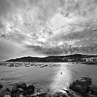 Calella clouds. by Paul Pasco