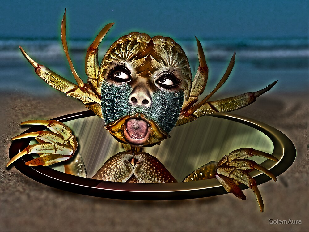 Crab Monster by GolemAura