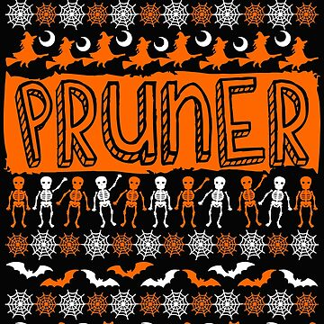 Cool Pruner Ugly Halloween Gift t-shirt by BBPDesigns