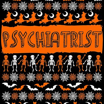 Cool Psychiatrist Ugly Halloween Gift t-shirt by BBPDesigns