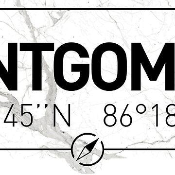 The longitude and latitude of Montgomery by efomylod