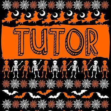 Cool Tutor Ugly Halloween Gift t-shirt by BBPDesigns