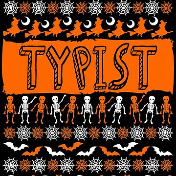 Cool Typist Ugly Halloween Gift t-shirt by BBPDesigns