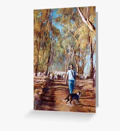 Drover Greeting Card