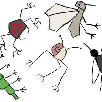 Weird Bugs by BashsArt