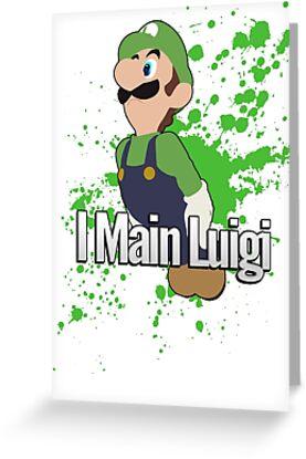 I Main Luigi - Super Smash Bros. For Wii U by PrincessCatanna