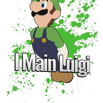I Main Luigi - Super Smash Bros. For Wii U by PrincessCatanna