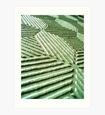 Pressed Tin Dado Art Print