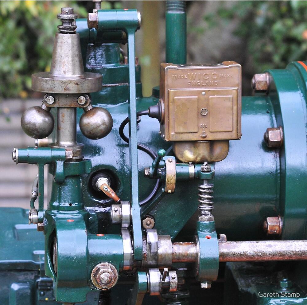 stationary engine by Gareth Stamp