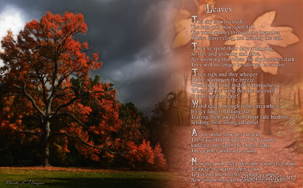 LEAVES by Rhonda Strickland
