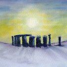 Winter henge by J J  Everson