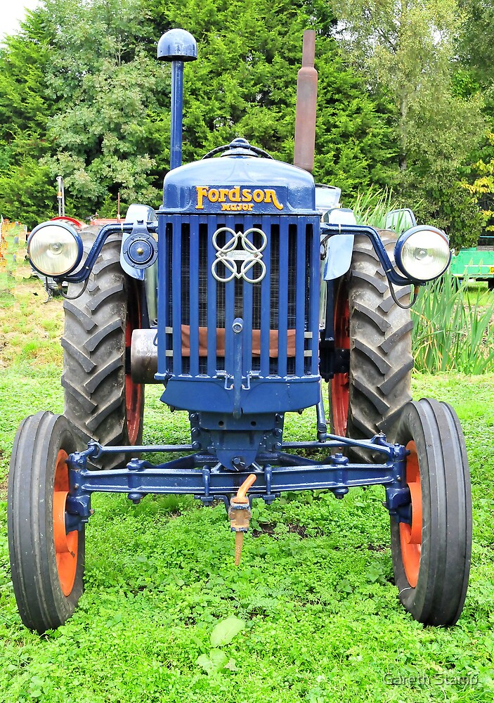 Fordson Tractor by Gareth Stamp