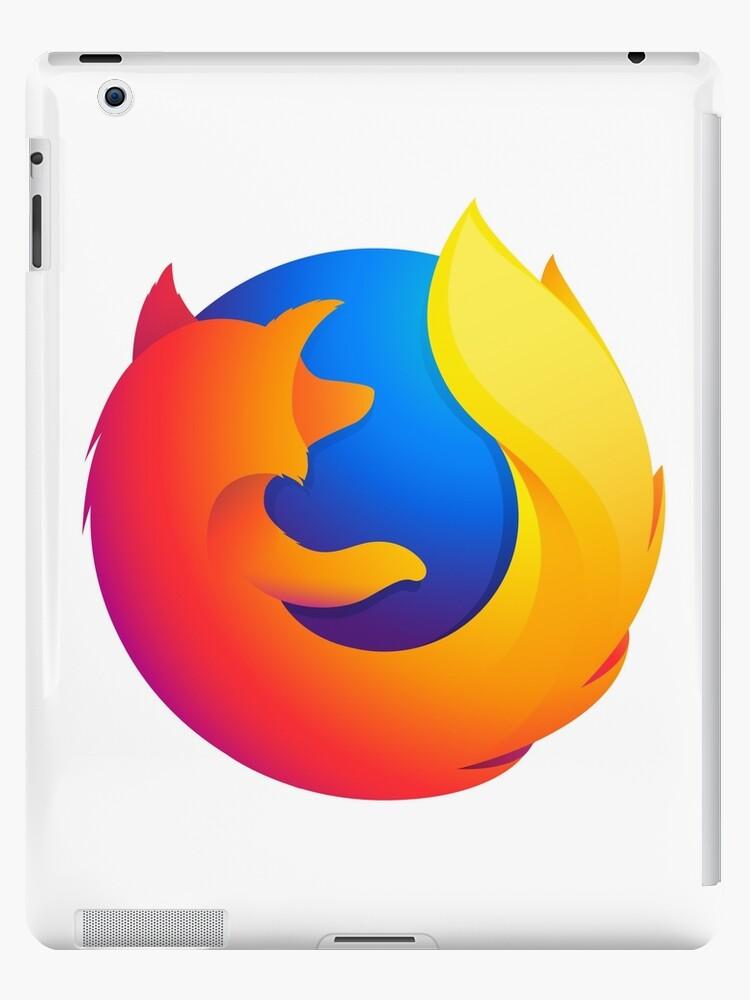 'Firefox Quantum Logo' iPad Case/Skin by RedWineBubble