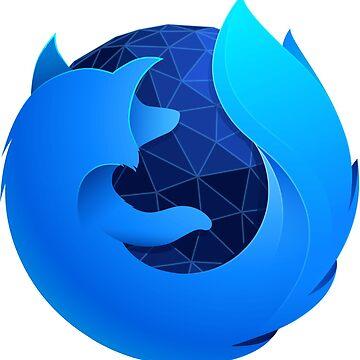 Firefox Quantum (developer edition logo) by RedWineBubble