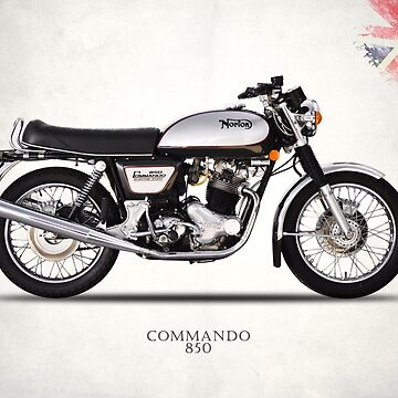 The Norton Commando 850 by rogue-design