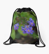 Forget me nots Drawstring Bag