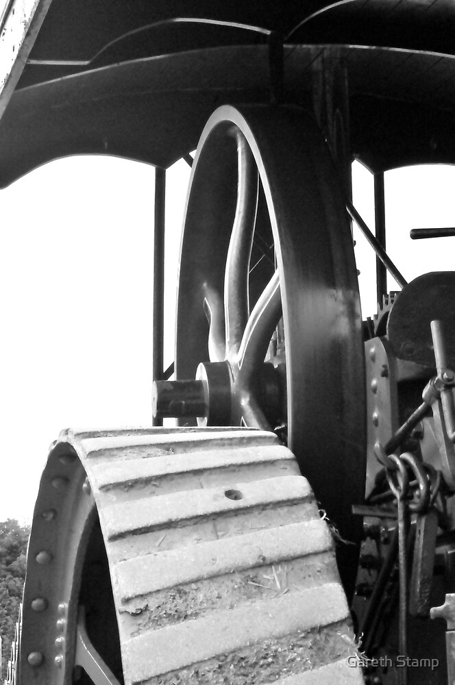 steam engine by Gareth Stamp