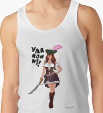 Lusty Pirate Queen Tank Top