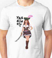 Lusty Pirate Queen Unisex T-Shirt