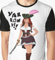 Lusty Pirate Queen Graphic T-Shirt
