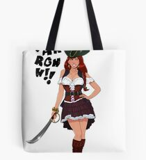 Lusty Pirate Queen Tote Bag