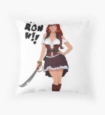 Lusty Pirate Queen Floor Pillow