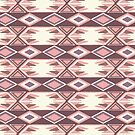 Pink Fall Ikat #redbubble #ikat by designdn