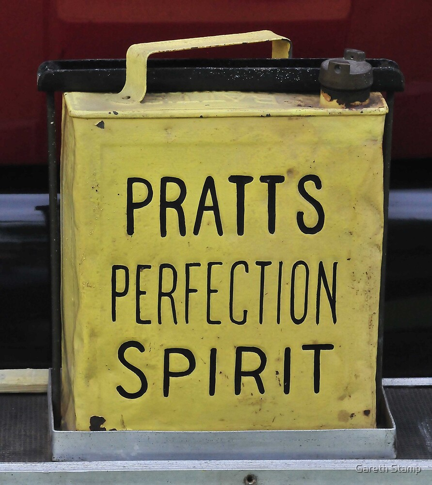 Pratts perfection spirit by Gareth Stamp