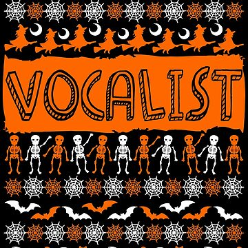 Cool Vocalist Ugly Halloween Gift t-shirt by BBPDesigns