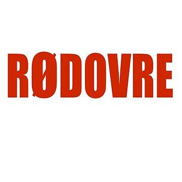Rødovre - Denmark T-Shirt Sticker by deanworld