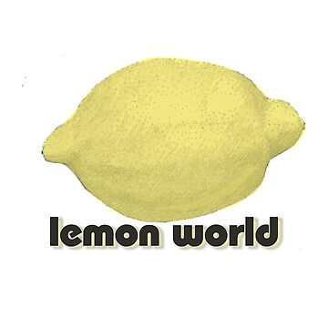 Lemon World by DedEye