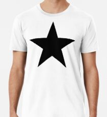 BLACK Star, Dark Star, Black Hole, Stellar, Achievement, Cool, Männer Premium T-Shirts