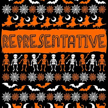 Cool representative Ugly Halloween Gift t-shirt by BBPDesigns