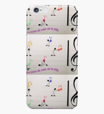 NOTAS de COLOR EN TU VIDA iPhone 6s Case