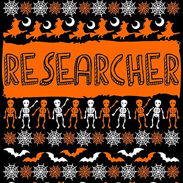Cool Researcher Ugly Halloween Gift t-shirt by BBPDesigns