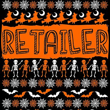 Cool Retailer Ugly Halloween Gift t-shirt by BBPDesigns