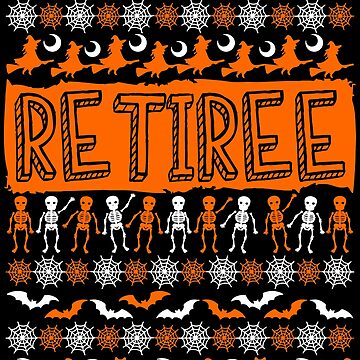 Cool Retiree Ugly Halloween Gift t-shirt by BBPDesigns