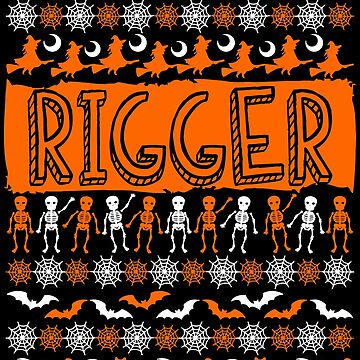 Cool Rigger Ugly Halloween Gift t-shirt by BBPDesigns