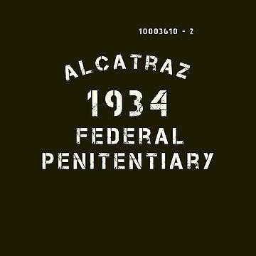 Prisoner Vintage Alcatraz Prison by closeddoor