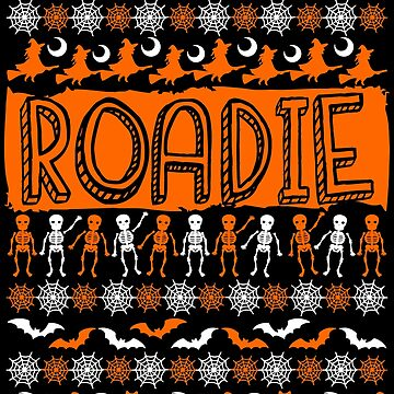 Cool Roadie Ugly Halloween Gift t-shirt by BBPDesigns