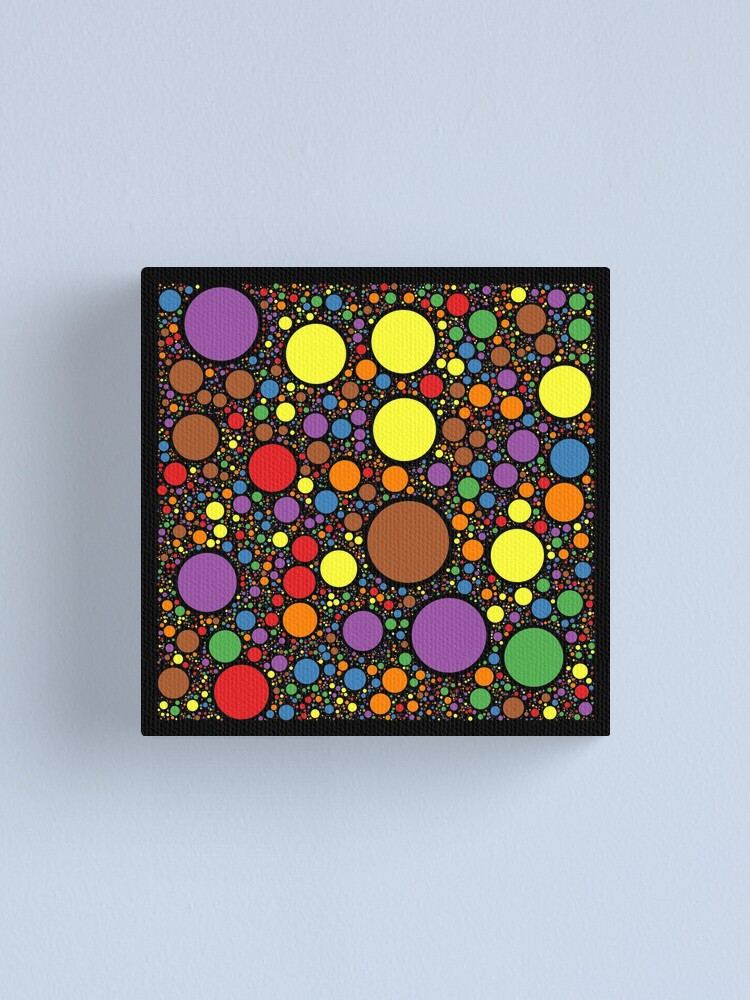 Alternate view of Circle Packing 214 Canvas Print