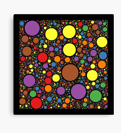 Circle Packing 214 Canvas Print