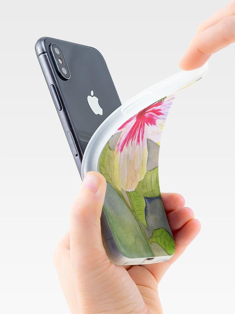 Alternate view of Hibiscus  iPhone Case & Cover