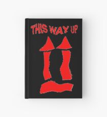 This Way Up !  Hardcover Journal